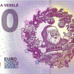 0 euro souvenir stastne a vesele 2019-1 slovakia banknote