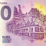 0 euro souvenir strbske pleso 2019-2 bankovka slovensko high tatras