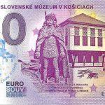 0 euro souvenir vychodoslovenske muzeum v kosiciach rodost zero euro bankovka slovensko