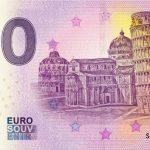 0 eurova bankovka PISA 2019-1 zero euro banknote italy
