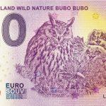 0 eurove bankovky Suomi – Finland Wild Nature Bubo Bubo 2020-7 zeroeuro souvenir