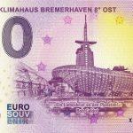 10 Jahre Klimahaus Bremerhaven 8° OST 2019-1 0 euro souvenir slovensko