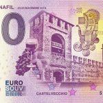 131 Veronafil 2018-2 castelvecchio eurosouvenir 0 euro banknote zero € souvenir