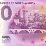 Palais de papes et Pont d'Avignon 2015-1