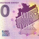 30 Jahre Deutsche Einheit 2018-1 0 euro souvenir schein germany
