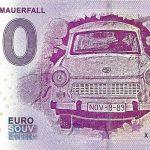 30 Jahre Mauerfall 2019-2 0 euro souvenir banknote