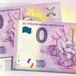 30. vyrocie neznej revolucie 2019-3 samatovej revoluce 2019-1 0 euro souvenir slovensko bankovka