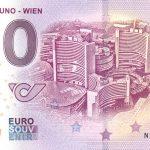 40 Jahre UNO – Wien 2019-1 0 euro souvenir banknote austria