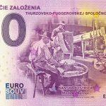 525. výročie založenia Thurzovsko-fuggerovskej spoločnosti 2020-1 0 euro souvenir slovensko