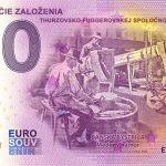 525. výročie založenia thurzovsko-fuggerovskej spolocnosti 2020-1 0 eurove bankovky slovensko nd