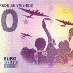 75 Jaar Vrede en Vrijheid 2020-1 0 euro souvenir banknotes netherlands