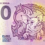 ART OF ZHU XIHUA 2018-1 0 euro souvenir