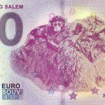Affenberg Salem 2019-4 0 euro souvenir schein