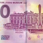 Alimentarium Food Museum 2019-1 0 euro souvenir banknote vevey