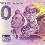 Arromanches 360 2018-2 0 euro souvenir banknote france cinema circulaire