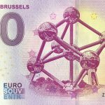 Atomium – Brusels 2019-2 0 euro souvenir slovensko