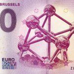 Atomium Brussels 2018-2 0 euro