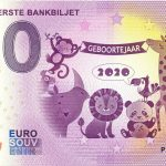 Baby´s Eerste Bankbiljet 2020-1 0 euro souvenir banknote