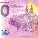 Banská Štiavnica 2020-1 0 euro souvenir bankovka slovensko sladkovic