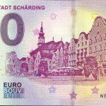 Barockstadt Scharding 2019-2 0 euro souvenir austria