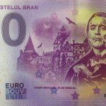 Bran Castelul Bran Dracula 2019-1 0 euro souvenir banknote ROAA
