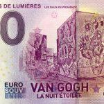 Carriéres de Lumiéres 2019-4 0 euro souvenir banknotes van gogh