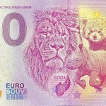 Cerza 2020-5 0 euro souvenir parc zoologique lisieux france banknote