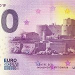 Chateau D´IF 2018-1 0 euro souvenir zero billet schein