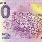 Cinco Violinos 2019-3 Sporting Portugal 0 € souvenir bankovka zero euro banknote