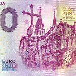 Covadonga 2019-1 0 euro souvenir bankovka