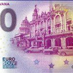 Cuba – Havana 2019-1 0 euro souvenir banknote zero euro schein