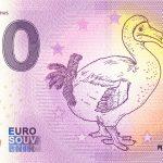 DODO Mauritius 2021-2 0 euro souvenir schein banknotes