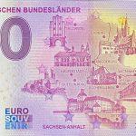 Die Deutschen Bundesländer 2021-14 0 euro souvenir banknote germany