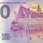 Die Friedliche Revolution 1989 2019-1 0 euro souvenir banknote