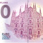 Duomo - Milano 2018-1 0 euro banknotes zero souvenir schein