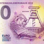 ENDE DES STEINKOHLEBERGBAUS 2018-1 0 euro souvenir bankovka slovensko zero euro banknote