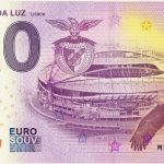 ESTADIO DA LUZ 2018-2 lisboa 0 euro suvenir bankovka souuvenir schein billet