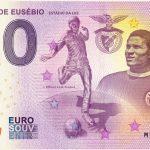 ESTATUA DE EUSÉBIO 2018-3 ESTADIO DA LUZ zero euro souvenir bankovka