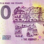 Elephants & Knie 100 Years 2020-2 0 euro souvenir banknotes swizz