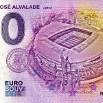 Estádio José Alvalade 2020-4 0 euro souvenir banknotes portugal sporting