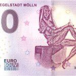 Eulenspiegelstadt Molln 2019-1 0 euro souvenir schein germany
