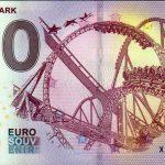 Europa Park 2018-1 0 euro souvenir bankovka slovensko zero euro banknote