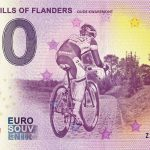 FAMOUS HILLS OF FLANDERS 2019-1 oude kwaremont zero euro souvenir banknote 0€ bankovka