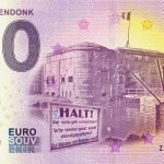 FORT BREENDONK 2020-2 0 euro souvenir banknotes belgium