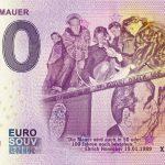 Fall der Mauer 2019-1 zero euro souvenir 0 € banknotes