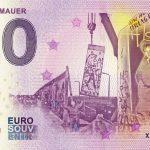 Fall der Mauer 2019-3 zero euro souvenir bankovka 0 €