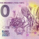 Fatih Sultan Mehmed 2019-1 0 euro souvenir