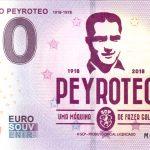 Fernando Peyroteo 2018-1 0 euro souvenir zero euro banknote
