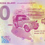 George Cross Island 2020-1 0 euro souvenir banknote