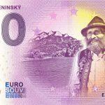 Goral Pieninský 2021-2 0 euro souvenir bankovka slovensko zeroeuro